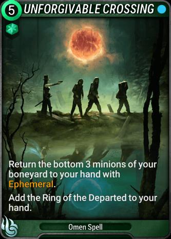 Unforgivable Crossing Card Image