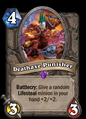 Deathaxe Punisher Card Image