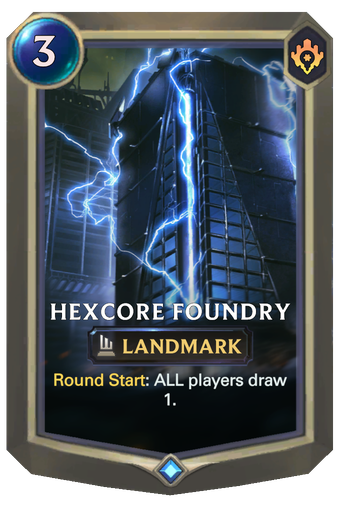 Hexcore Foundry Card Image