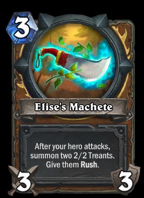 Elise's Machete Card Image