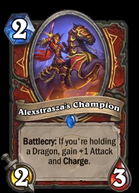 Alexstrasza's Champion Card Image