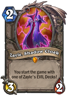 Zayle, Shadow Cloak Card Image