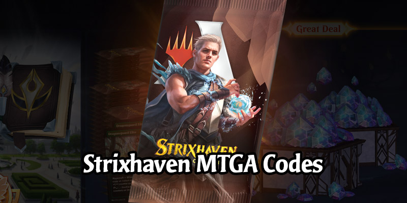 New Free Code Unlocks in MTG Arena - 2 Mastery Levels, 3 Strixhaven Packs, 5 Strixhaven College Sleeves