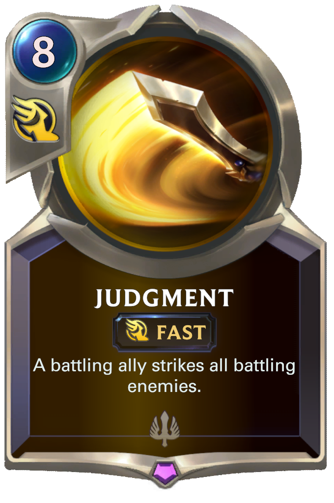 Judgment Card Image