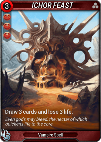 Ichor Feast Card Image