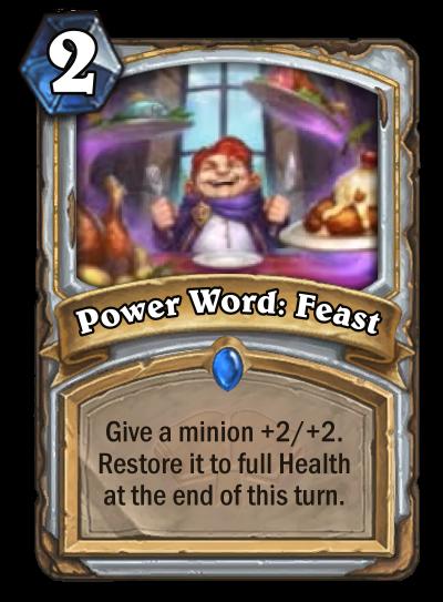 Power Word: Feast Card Image