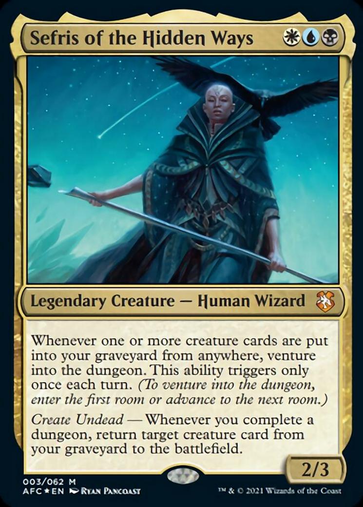 Sefris of the Hidden Ways Card Image