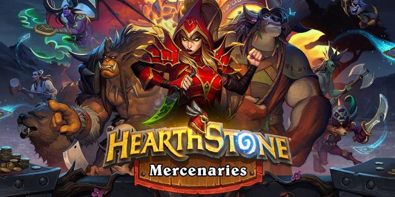 Sneak Peek at Hearthstone Mercenaries - Screenshots and Descriptions of the New Mode via a Blizzard Survey