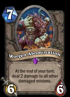 Worgen Abomination Card Image