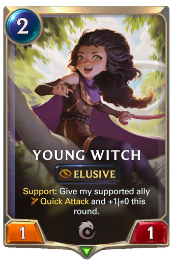 Young Witch Card Image