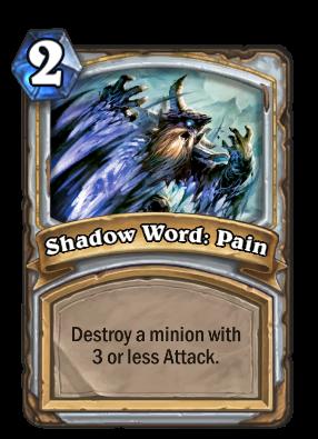Shadow Word: Pain Card Image