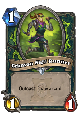 Crimson Sigil Runner Card Image