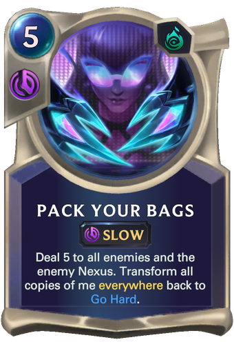 Pack Your Bags Card Image