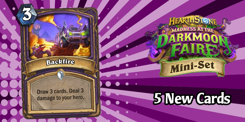 5 More Darkmoon Faire Mini Set Card Reveals - Demon Hunters, Aggressive Murloc, Warlock Card Draw, Regular Hysteria