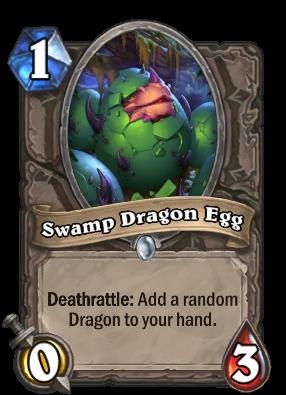 Swamp Dragon Egg Card Image