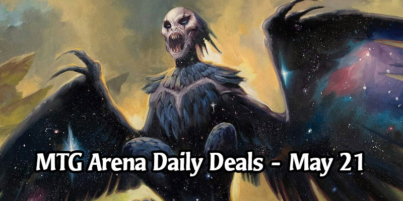 MTG Arena Daily Deals for May 21, 2020 - 80% Off Aphemia, the Cacophony