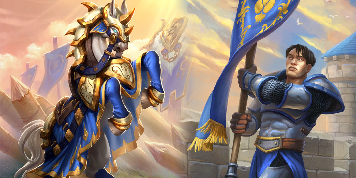 Reviewing Hearthstone's New Paladin Cards Arriving in United in Stormwind
