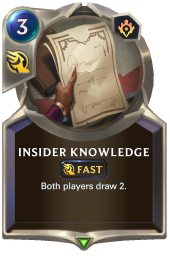 Insider Knowledge Card Image