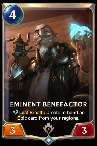 Eminent Benefactor Card Image