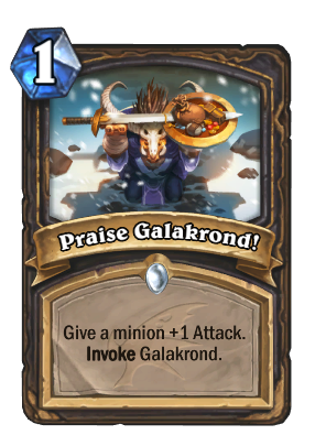 Praise Galakrond! Card Image