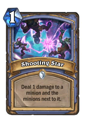 Shooting Star Card Image