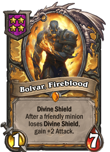 Bolvar, Fireblood Card Image