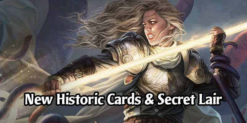 25 Cards Coming to MTG Arena's Historic Format on March 12 & Secret Lair ft. Thalia, Guardian of Thraben Card Styles