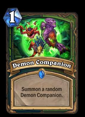 Demon Companion Card Image