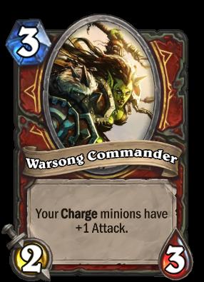 Warsong Commander Card Image