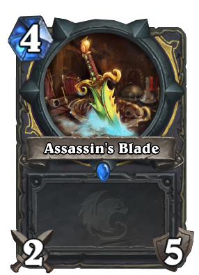 Assassin's Blade Card Image
