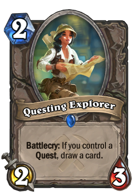 Questing Explorer Card Image