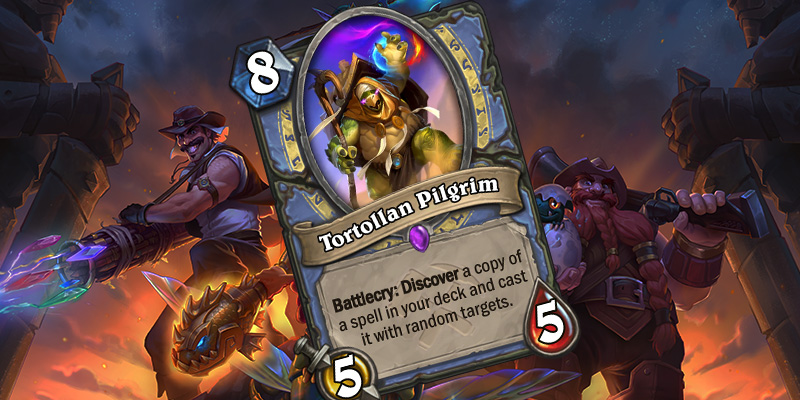 Uldum Mage Card Reveal - Tortollan Pilgrim