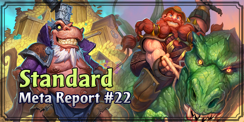 Standard Meta Report #22 - Top Hearthstone Decks February 2, 2020 - February 9, 2020