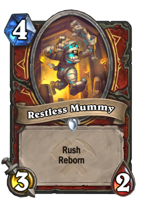 Restless Mummy Card Image