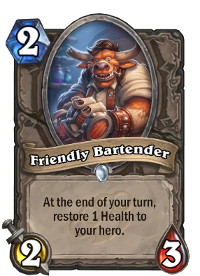 Friendly Bartender Card Image