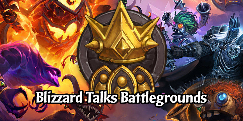 Blizzard Talks Problems, Upcoming Content, and Ranked Resets for Hearthstone's Battlegrounds
