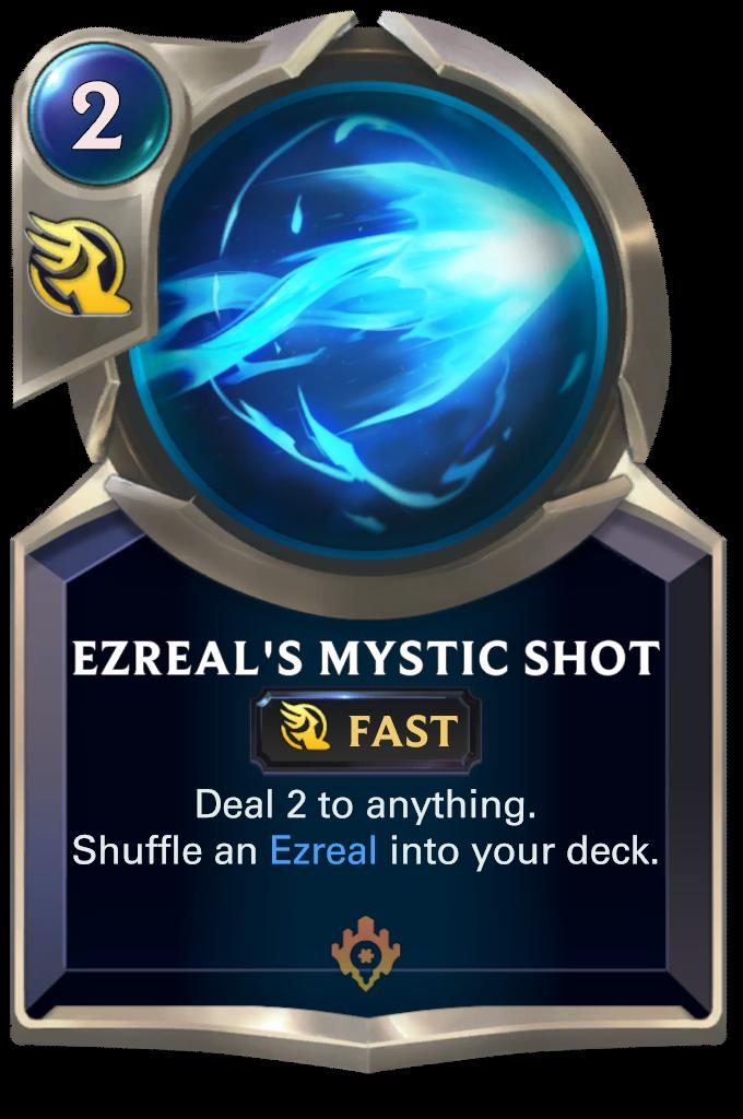 Ezreal's Mystic Shot Card Image