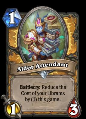 Aldor Attendant Card Image