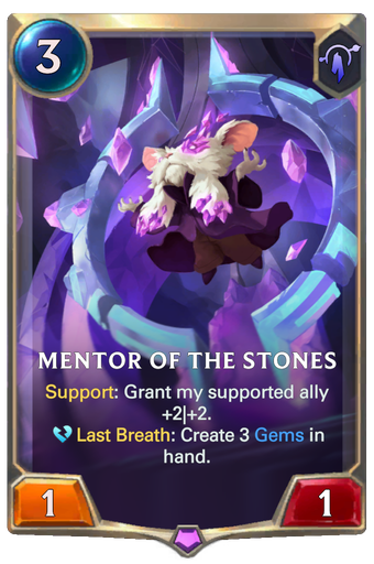 Mentor of the Stones Card Image