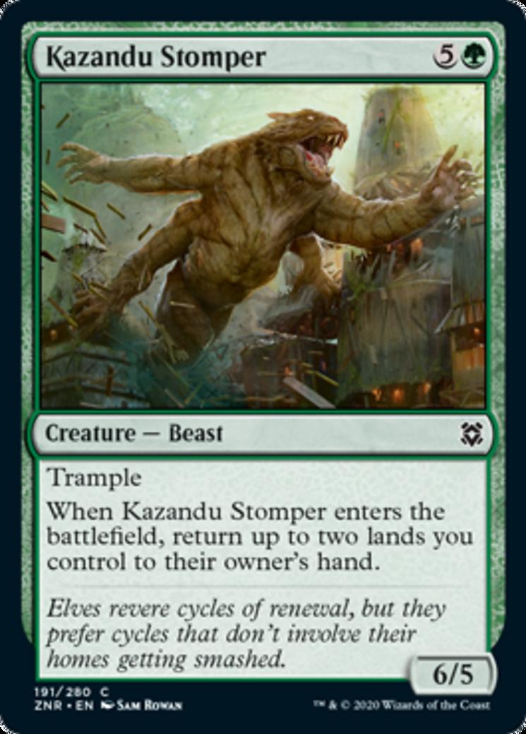 Kazandu Stomper Card Image