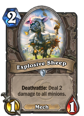 Explosive Sheep Card Image