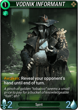 Vodnik Informant Card Image