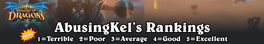 DoD AbusingKel's Rankings