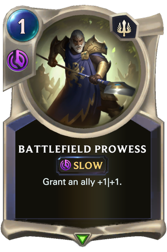 Battlefield Prowess Card Image