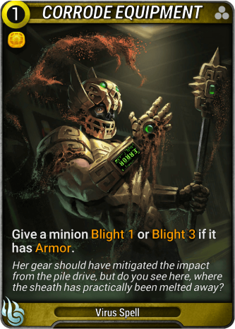 Corrode Equipment Card Image