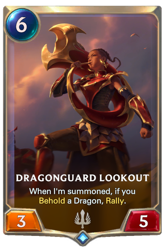 Dragonguard Lookout Card Image