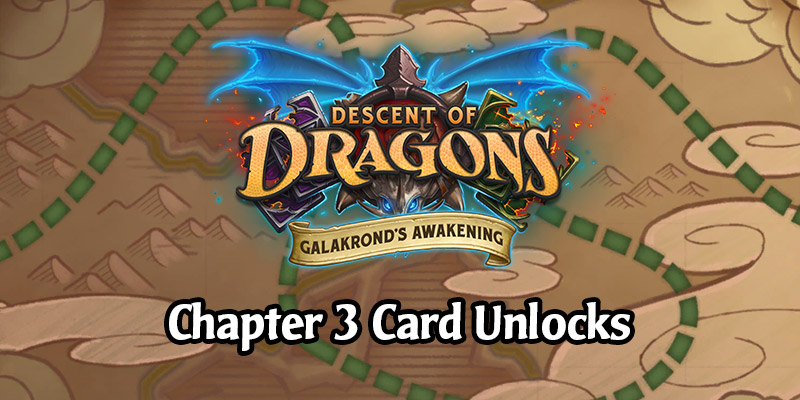 The Galakrond's Awakening Hearthstone Adventure Week 3 Cards - Air Battle Over Dragonblight