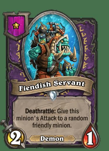 Fiendish Servant Card Image