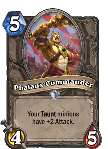 Phalanx Commander Card Image
