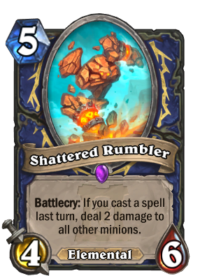 Shattered Rumbler Card Image